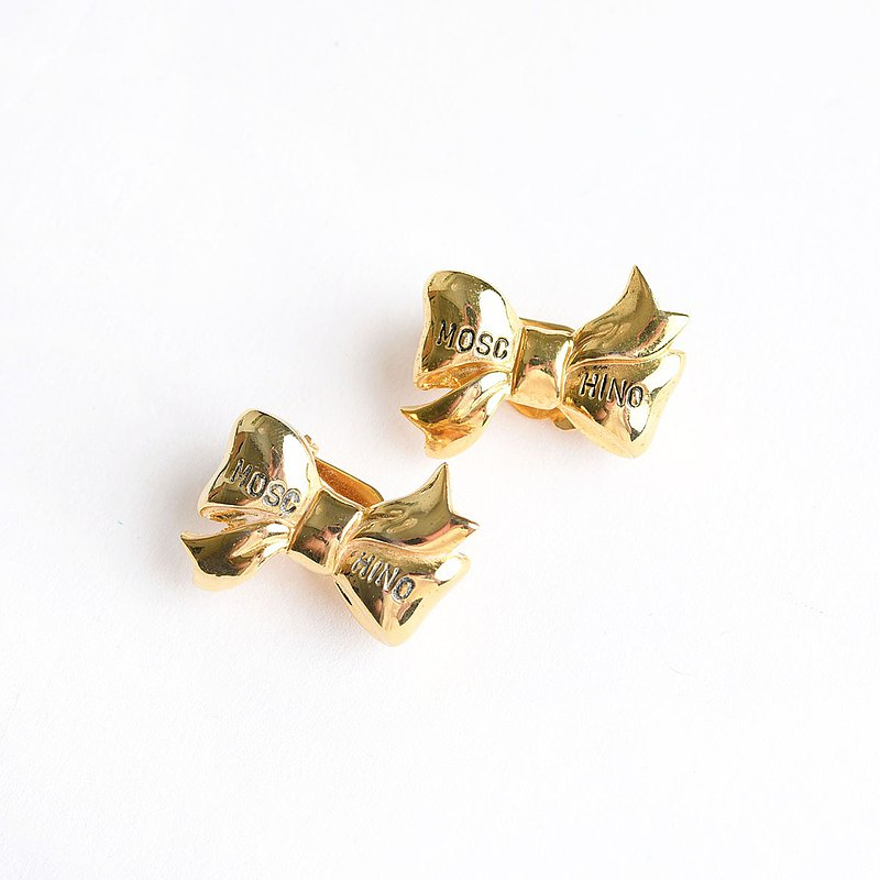 vintage Moschino earrings