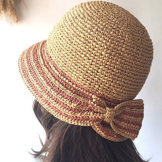 Birds of flowers lyrical woven summer sunhat