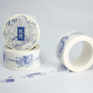 surenzhai food goods and paper tape illustration series - goblin