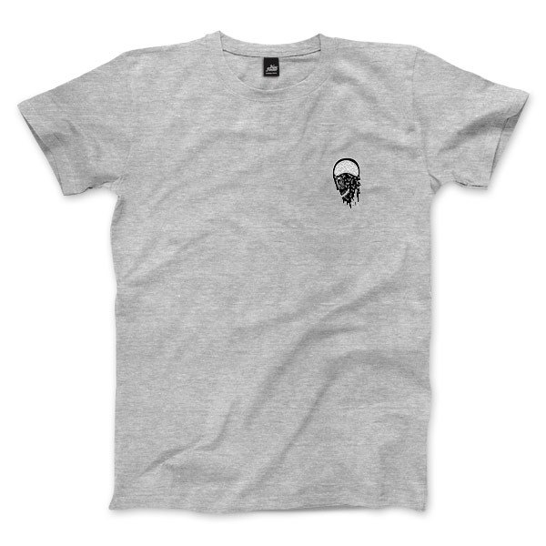Infection - Deep Heather Gray - neutral T-shirt