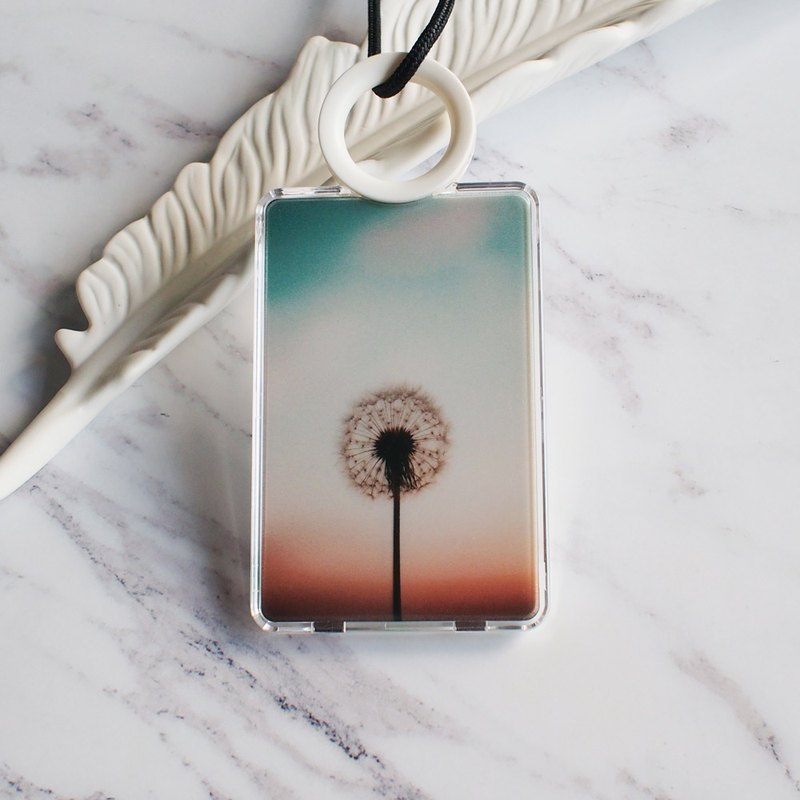 The Dandelion Sunset - Cardholder