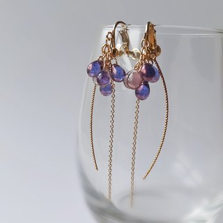 Amethyst's drop Earrings