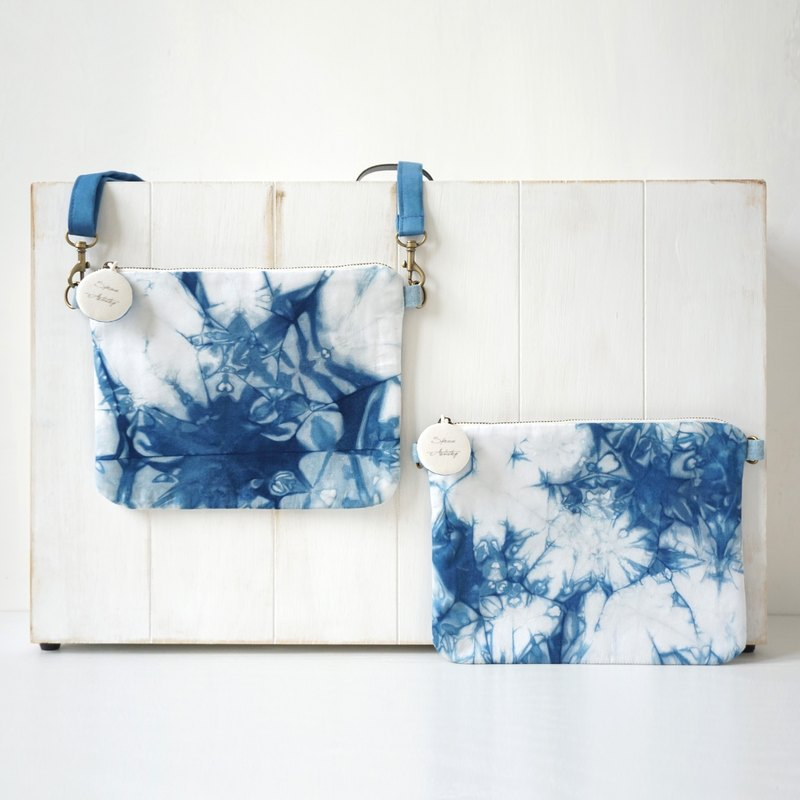 S.A x Cross Body Bag, Ink Painting/ Straw/ Macaron/ Iceberg/ Spruce Forest