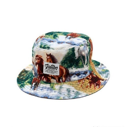 Filter017 The Year Of The Horse Limited Reversible Bucket Hat / 馬年限定系列 駿馬圖雙面戴漁夫帽