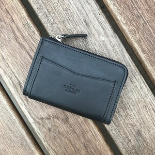 Coin zip purse /Black