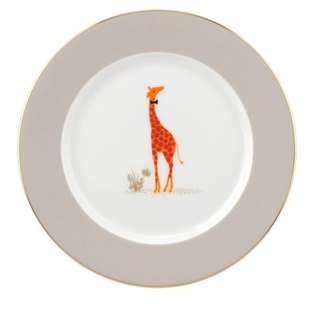 Sara Miller London for Portmeirion Piccadilly Collection Cake Plate - Giraffe