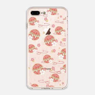 Japanese Painting 【Colored Balls】crystals phone case