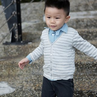 Single-breasted light jacket - see Hai articles hand-made non-toxic children's clothing thin coat cotton