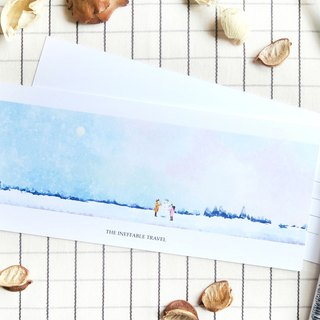 The Ineffable Travel - Tiny Times Greeting Card
