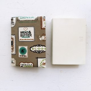 Label handmade book / book cover (notebook / diary / PDA)