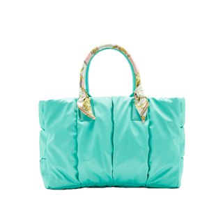 VOUS mother bag classic series of green water + such as cherry early scarf
