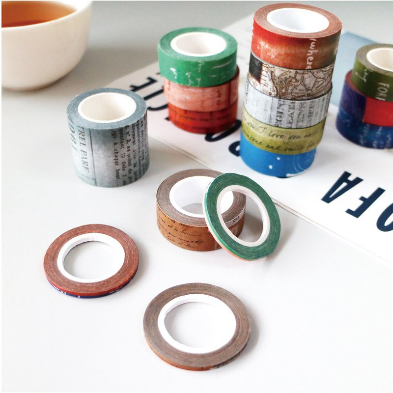 Ching Ching X Simple Life Series CST-276 3mm Masking Tape (3 a set)