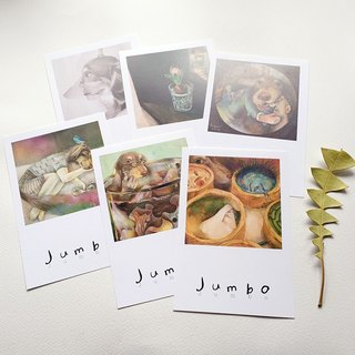 Jumbo Postcards (Shipping group six)