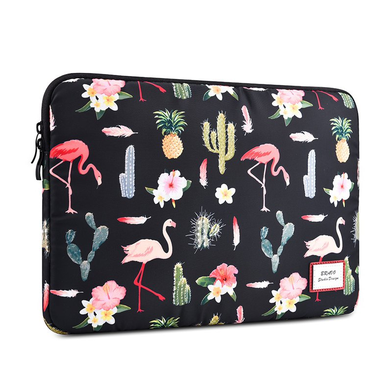 Flamingo water repellent apple pen battery laptop bag macbook13 吋 / 13.3 吋 protective cover