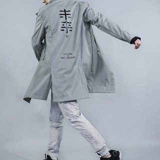 Future long waterproof coat