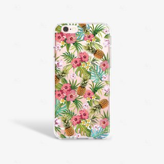 Pineapples iPhone 7 Case Clear iPhone 8 Case Clear iPhone 7 Plus Case iPhone 6S