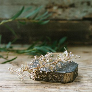 Secret Garden Crystal Crown