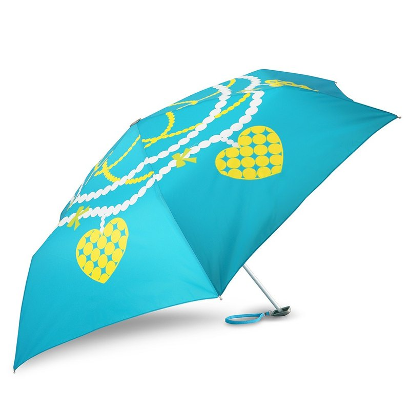 Ultra Lightweight Manual Compact Umbrella - Pearl Jewelry