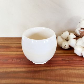 Hand made double ceramic insulation cup 200cc