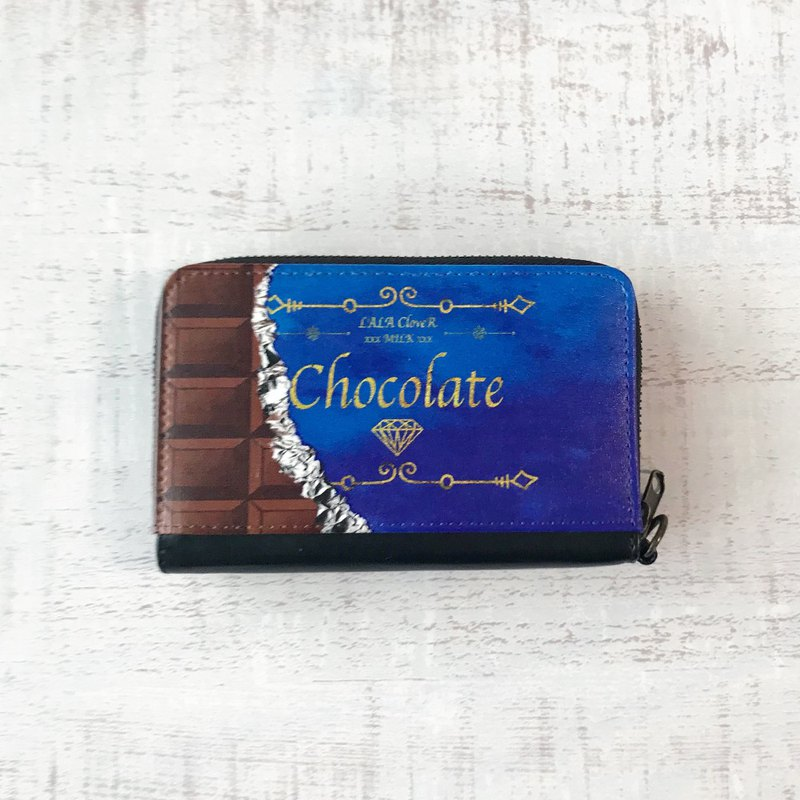 Mini Wallet Chocolate / coin case / card case / Sweets