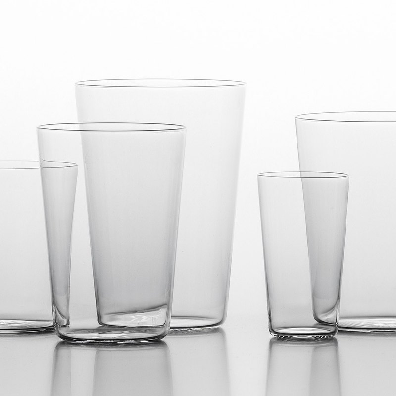 Kimura Glass Shop Ultra-thin Water Cup 400ml Pair Cup Gift Set