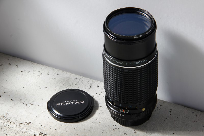 Pentax SMC 200mm F4.0 PK mount