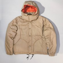 GERRY Cosby & co. / Khaki hooded down jacket / old / Korean