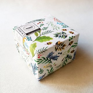 [Hoppy] Mini Box-Bloom green / garden satin flower paper tape / GTIN: 4713077972359