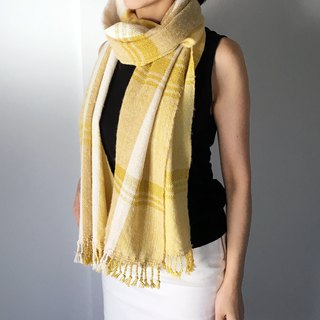Unisex Scarf / Yellow Mix - All season available -