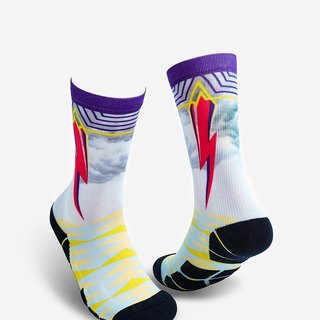 【Chainloop】 LIFEBEAT fashion X sports socks Lightning lightning beam design socks with boys and girls size