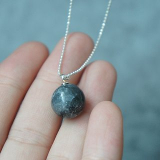 [Moon] Moon Necklace (12mm) | 925 Sterling Silver