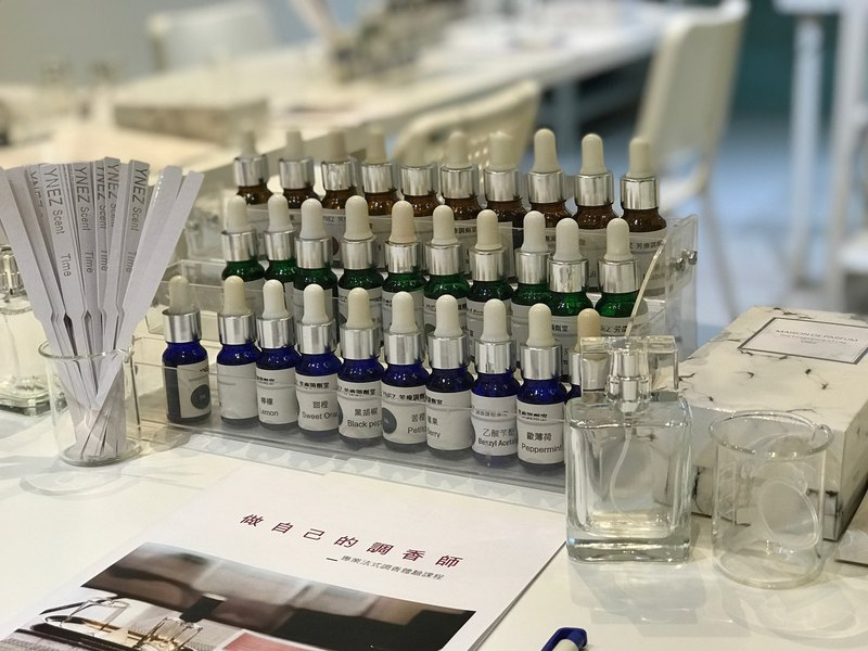 [YNEZ Weekday Appointment Class] Do your own perfumer's fragrance experience hand-made course