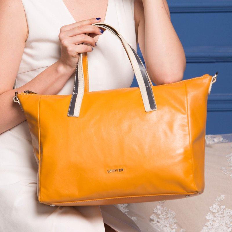 Early summer carnival-new atmospheric women's bag wild soft leather casual lady mom bag simple handbag