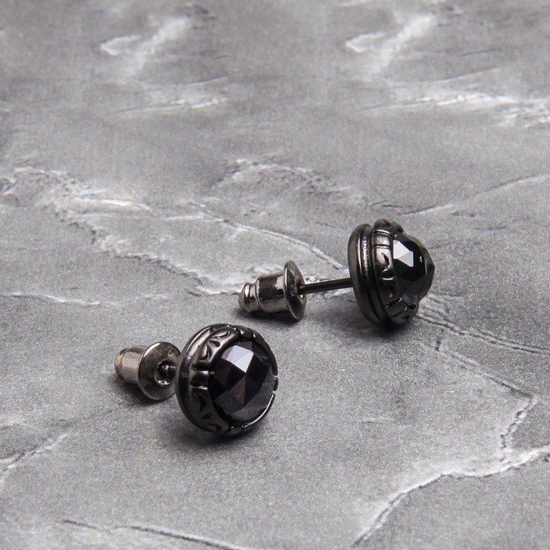 New style brand Dissolve retro European and American personality men's minority men and women earrings