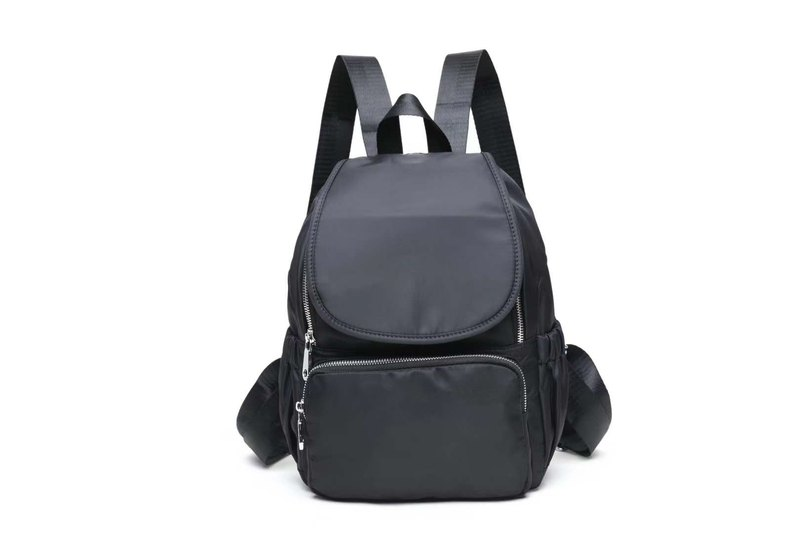 Backpack Backpack Unisex New Lightweight Waterproof Fashionable Wild Classic Black