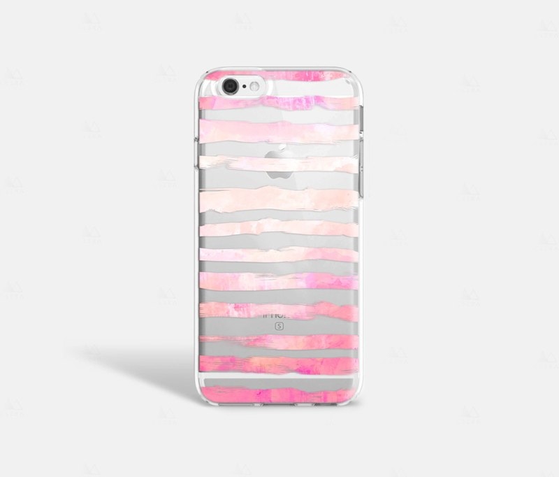 Stripe iPhone 7 Case Clear iPhone 8 Case Clear iPhone 7 Plus Case Clear iPhone 6