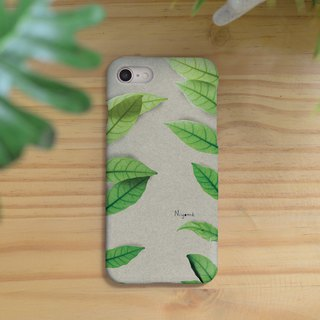 two side leafs iphone case สำหรับ iphone7  iphone8, iphone8 plus , iphonex