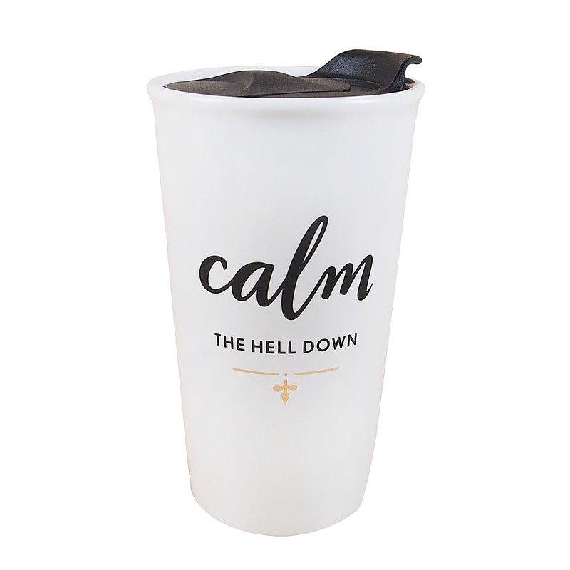 冷靜Calm【Hallmark-文字禮品 旅行隨身馬克杯】