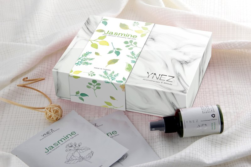 [YNEZ Limited] Jasmine Pure Dew and Jasmine Mask Gift Box Mother's Day Top 10 Gifts in Taichung