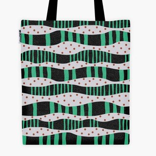 Filament - Shopping Bag - Sandbank / Black