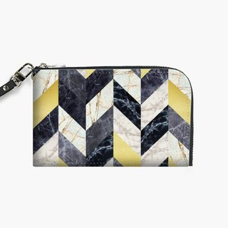 Snupped Isotope - Phone Pouch - Chevron fashion III