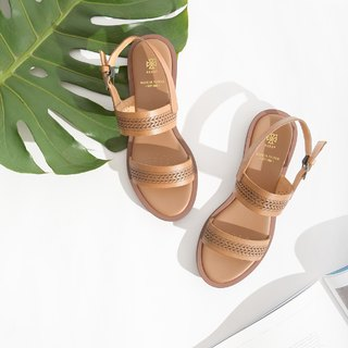 Leather Sandals | Tan
