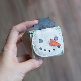 Christmas - Snowman Royal Rice Group Stereo Coin Purse