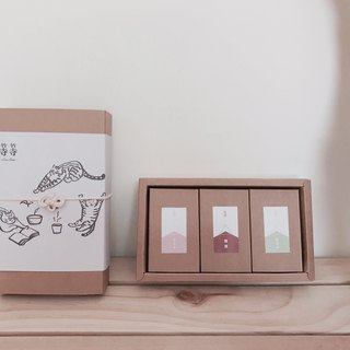 Three kinds of tea / Gift box