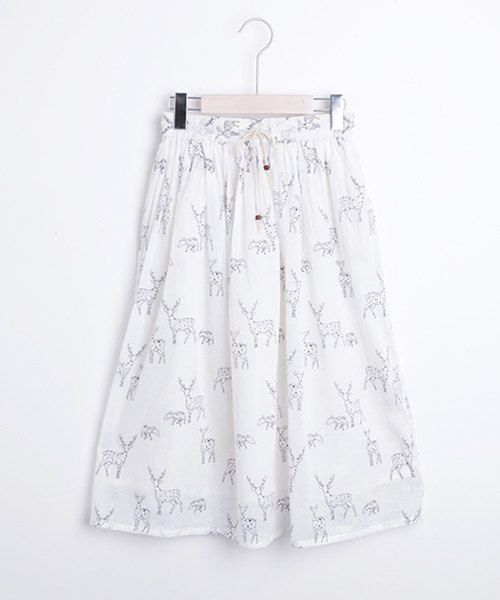 Bambi's parent and child print skirt