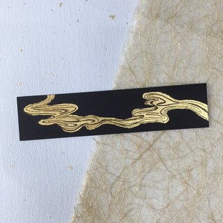 ● clouds manufacturing handmade Ann gold foil ● ● ● Taiwan Bookmarks