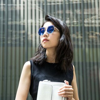 Ocean Series / ASTRID Sunglasses (Blue Dragonfly)