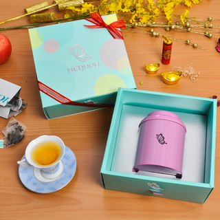 Mining Cinema Fashion Gift | tea bag into a single pot of caramel Waltz │ South Africa DAVID tea tea gift] [HERDOR