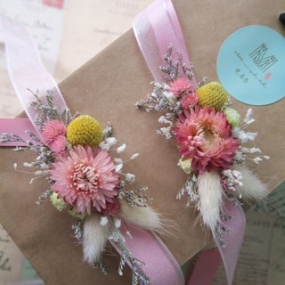 Mansen state wrist flower dry flower bridesmaid bride