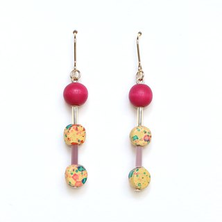 grain Beads Earrings / Earrings